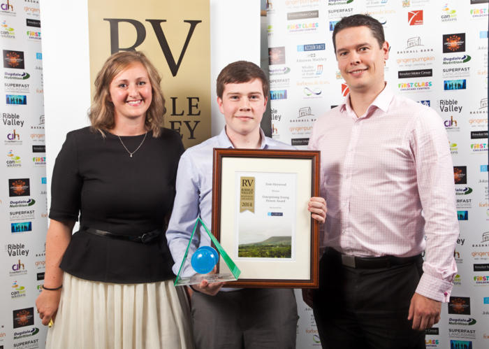 2014 winners Enterprising Young Person Winner Tom Heywood (2)
