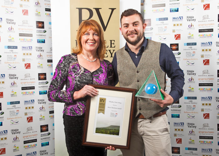 2014 winners Micro Business Winner Whalley Wine Shop (1)