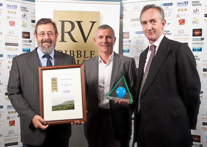 2014 winners overall Superfast Lancashire Award Winners Bowland BioEnergy