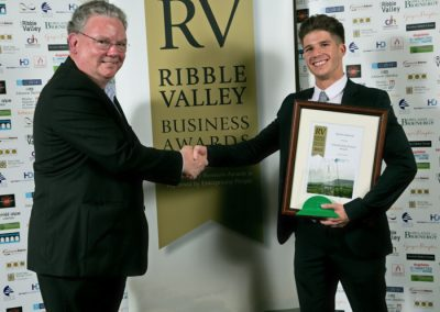 2015 winners Enterprising Person 4 Winner Kieren Spencer (right)