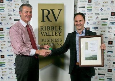 2015 winners Innovation Award 4 Winners Silverwoods Waste Management Julian Silverwood (right)
