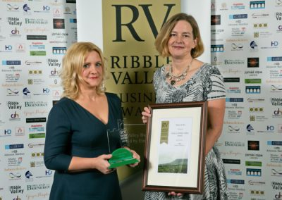 2015 winners Made In Ribble Valley 3 Winners Raine and Bea Jenna Barnes (left)