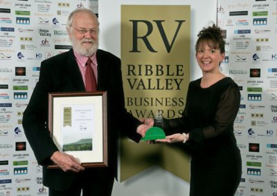 2015 winners New Business 3 Winners Whalley Community Hydro Graham Sowter (left)