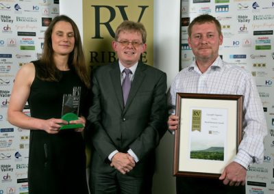 2015 winners Rural Business 3 Winners Gazegill Organics Ian O'Reilly (right)