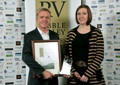 2015 winnersTourism Business 3 Winners The Grand Venue Steven Lancaster (left)