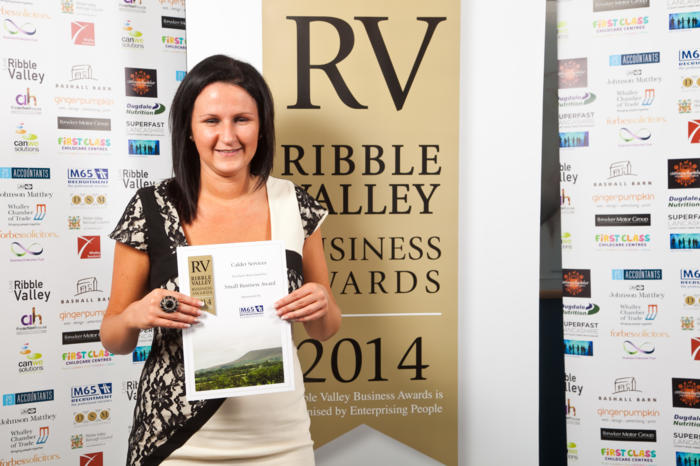 Small Business Finalist Calder Services
